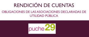 La obligación de rendir cuentas de las asociaciones de utilidad pública - pucge29