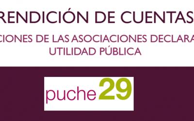 La obligación de rendir cuentas de las asociaciones de utilidad pública