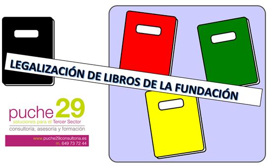 Legalización de libros de las Fundaciones
